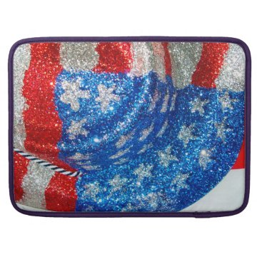 American Cowboy Hat on The USA Flag MacBook Pro Sleeve