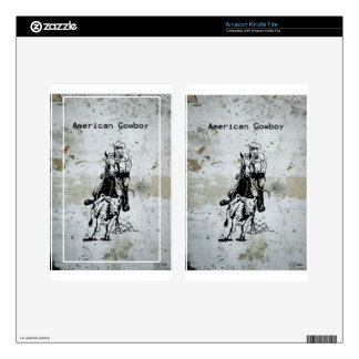 American Cowboy Rodeo Western Horse Skins For Kindle Fire