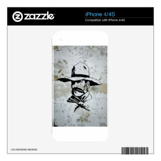 American Cowboy Western Southwest Hat Horse iPhone 4S Decals