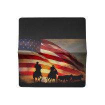 American Cowboys  Checkbook Cover