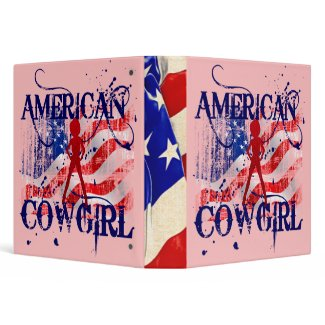 American Cowgirl binder