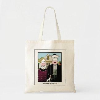 American Cowlick Tote Bag