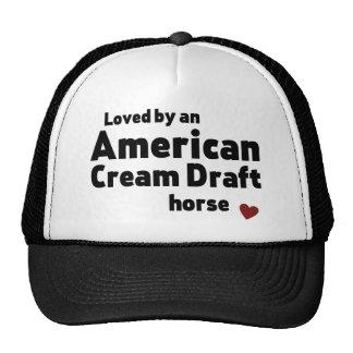 American Cream Draft horse Trucker Hat