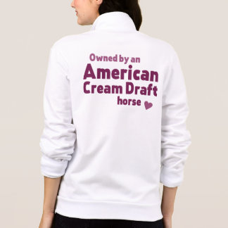 American Cream Draft horse Jackets