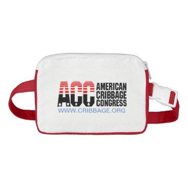 USA Themed American Cribbage Congress FANNY PACK