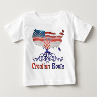 American Croatian Roots Baby T-Shirt