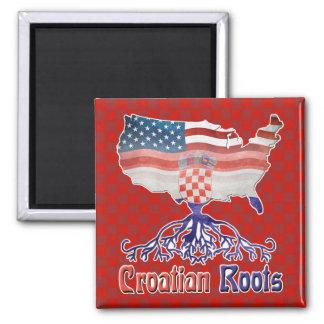American Croatian Roots Magnet
