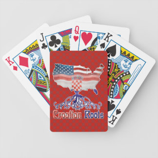 American Croatian Roots Playing Cards