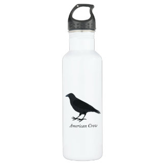 American Crow Stainless Steel Water Bottle