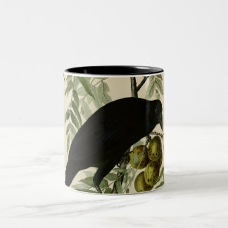 American Crow Two-Tone Coffee Mug