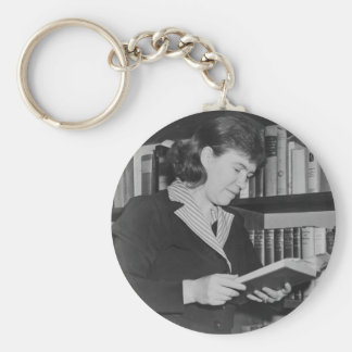 American Cultural Anthropologist Margaret Mead Keychain