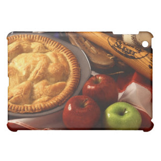 American Cultural Icons Apple Pie Baseball & Flag Cover For The iPad Mini