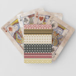 American culture background bicycle playing cards