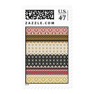 American culture pattern postage