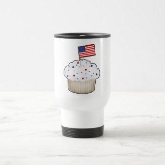 American Cupcake 15 Oz Stainless Steel Travel Mug