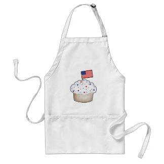 American Cupcake Adult Apron