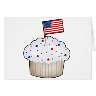 American Cupcake Card