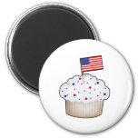 American Cupcake Magnets