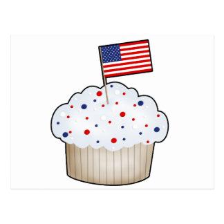 American Cupcake Postcard
