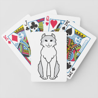 American Curl Cat Cartoon Bicycle Playing Cards