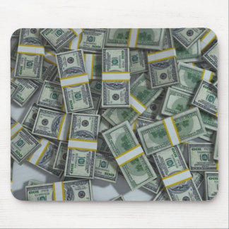 American Currency Money Motivational Mouse Pad