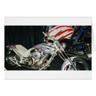 American Custom VTwin Motorcycle. Cards
