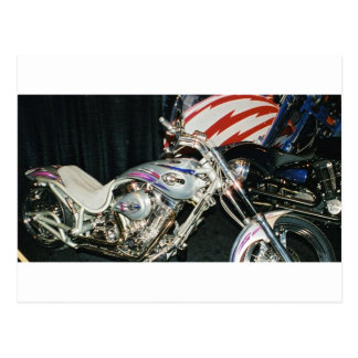 American Custom VTwin Motorcycle. Post Cards