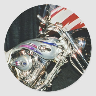 American Custom VTwin Motorcycle Sticker