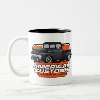 American Customs F100 Two-Tone Coffee Mug
