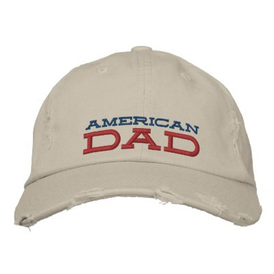 american dad distressed chino cap
