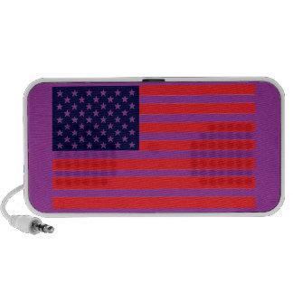 American Dandy Yankee-Doodle Color Flag Mp3 Speakers
