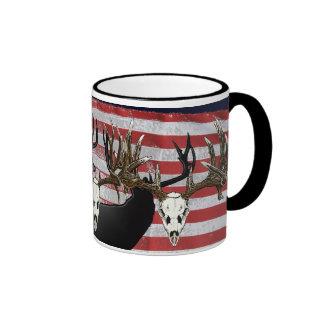 American Deer hunter Ringer Coffee Mug
