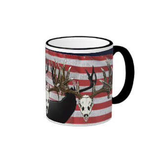 American Deer hunter Ringer Mug