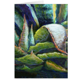 American Desert Agave Cactus by Sharles Card