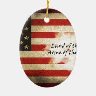 american designs ceramic ornament