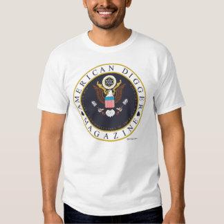 American Digger Large Logo Tshirt