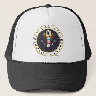 American Digger Logo Trucker Hat