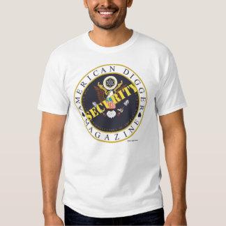 American Digger Security Large Logo T-Shirt