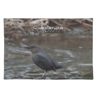 American Dipper; Customizable Cloth Placemat