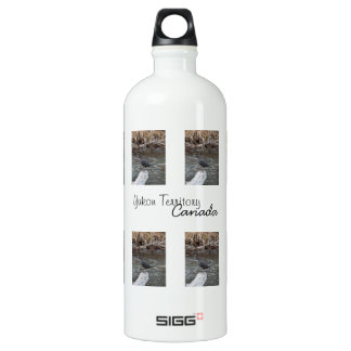American Dipper; Yukon Territory Souvenir Aluminum Water Bottle