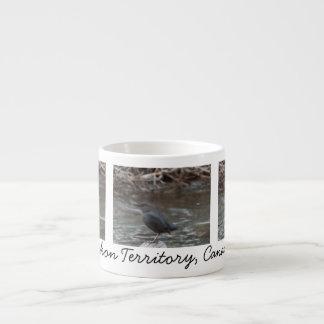 American Dipper; Yukon Territory Souvenir Espresso Cup