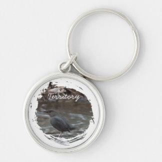 American Dipper; Yukon Territory Souvenir Keychain