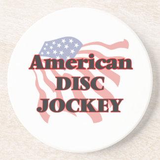 American Disc Jockey Beverage Coaster