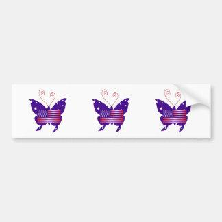 American Diva Butterfly Bumper Stickers