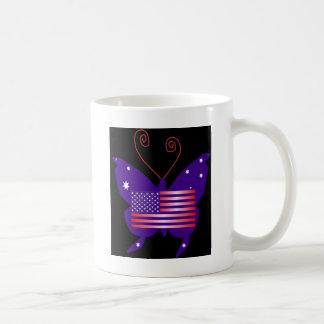 American Diva Butterfly Mug