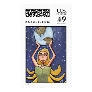 American Diva - stamp