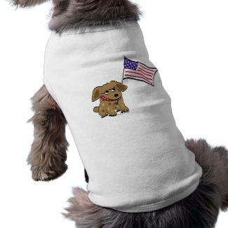 july 4th t-shirt for dogs