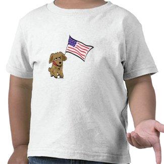 American Dog T-shirt shirt