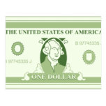 American Dollar Postcard