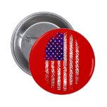 American down to my fingerprints USA pride Pins